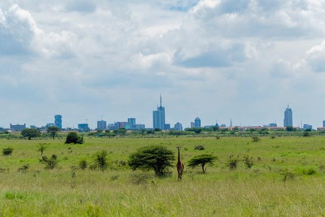 Nairobi National Park Gate